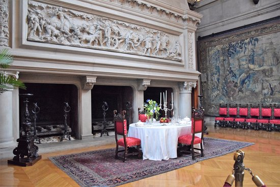 Three-Opening Fireplace In The Dining Room - Picture Of Biltmore