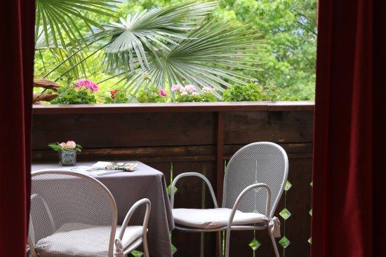 Pension Sonnheim: Balcone