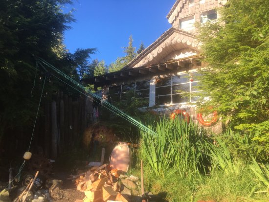 Haida Gwaii (Queen Charlotte Islands), Kanada: The Main House