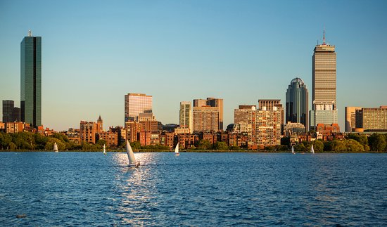 The Westin Copley Place, Boston: Charles River and Boston skyline
