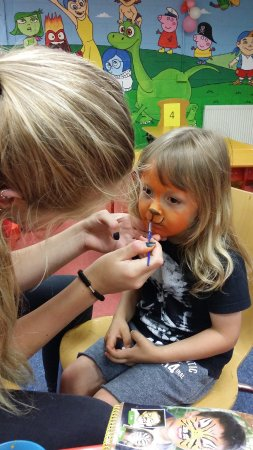 Kildare, Irland: Face Painting