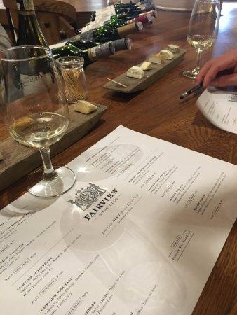 Franschhoek, África do Sul: Fairview wine estate