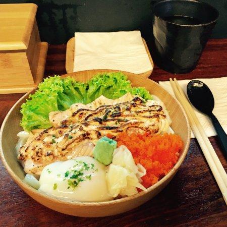 Menu With Visuals Picture Of Salmon Samurai Singapore Tripadvisor