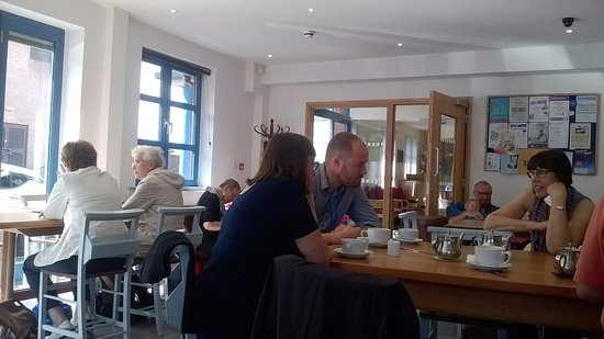 Castleford, UK: Great coffee and a natter