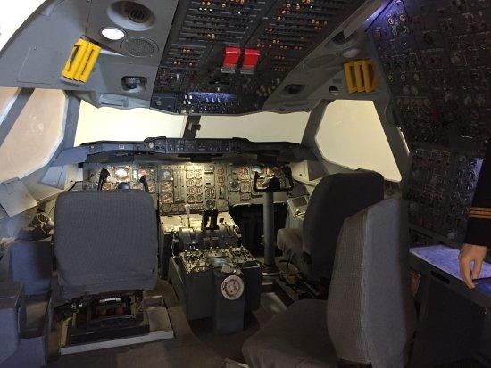 Volandia Parco e Museo del Volo Malpensa: Simulatore di volo Alitalia