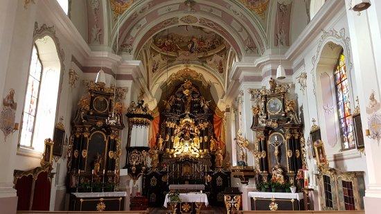 Lavant, Avusturya: Innenraum der Kirche