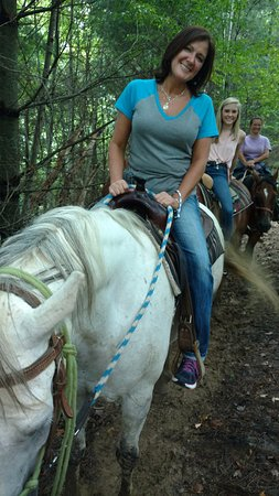 Vilas, Carolina del Norte: Photos along the trail ride