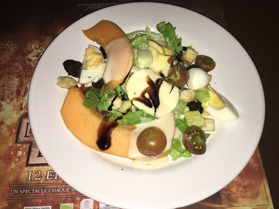 Brignoles, França: Salade de crudités