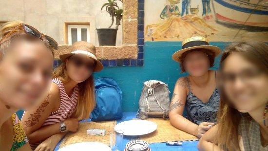 Chez Kherfa: Terraza del restaurante