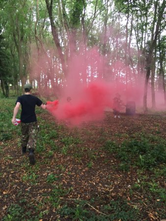 Smoke grenade - Picture of Laser Days, Nottingham - TripAdvisor