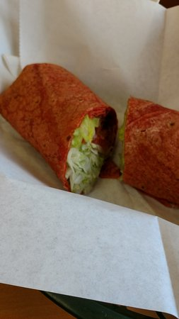 Subway: Habanero Wrap