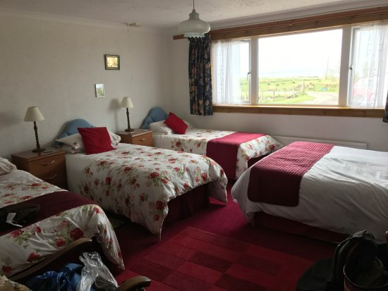 John O'Groats, UK: Our room for two.