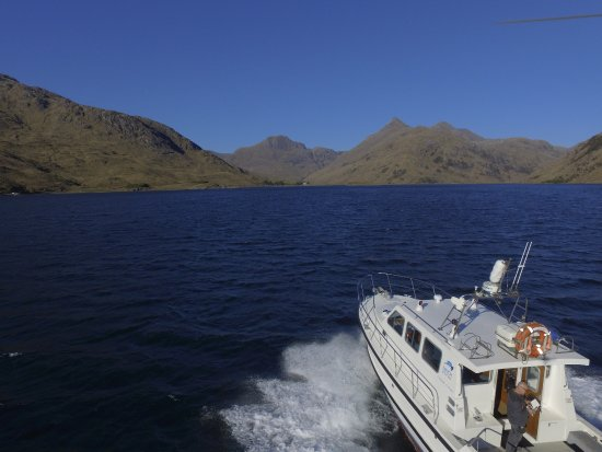 Mallaig, UK: Our vessel Cyfish on and around the seascapes of Loch Nevis