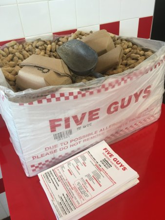 California, MD: Five Guys!!