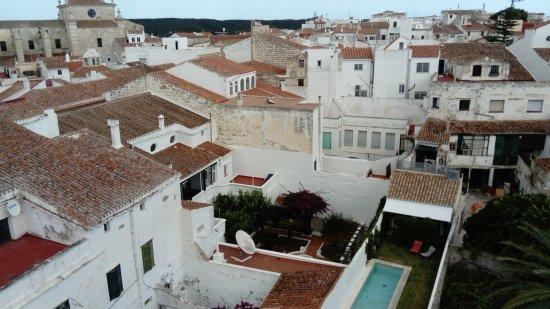 "Hostal ""Posada Orsi"": vista desde la terraza comunitaria"