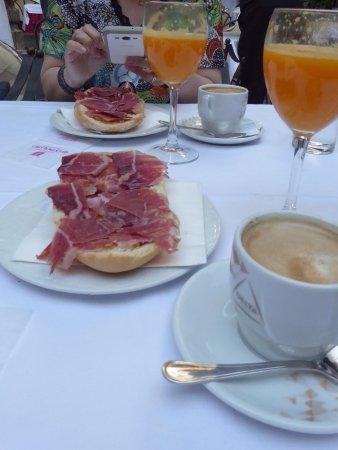 Restaurante Casa Palacio Bandolero: desayuno