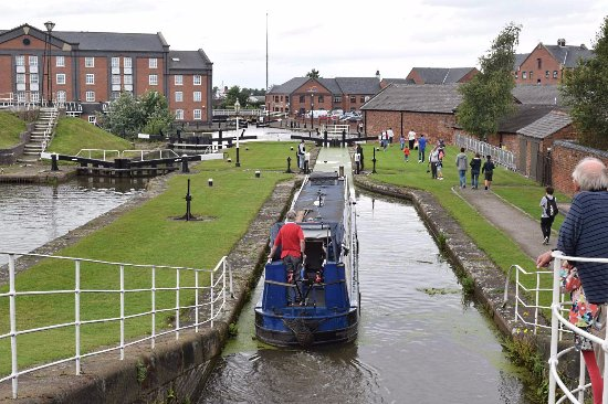 Ellesmere Port, UK: Locks.