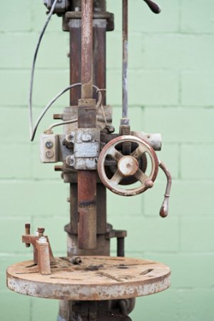 Othello, WA: Drill Press