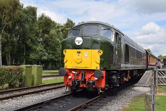 Matlock, UK: Diesel engine.