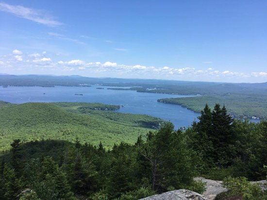 Alton Bay, NH: View from the summit