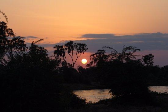 Ielephants On The River, Samburu