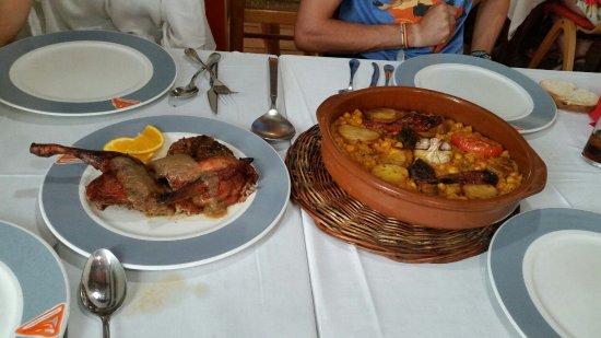 Gata de Gorgos, Hiszpania: Pato al horno y Arroz al horno_large.jpg