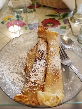 Southgate, MI: Crepes after the goulash