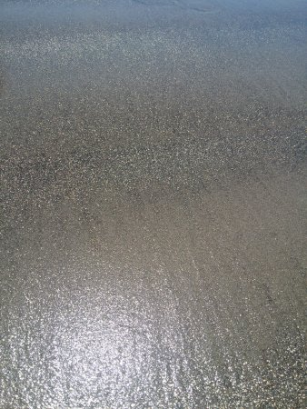 Coronado, CA: Sparkly sand