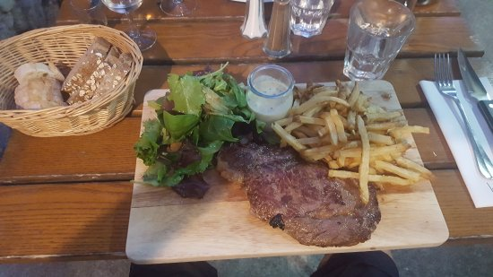 Valaurie, France: entrecote