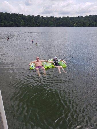 Table Rock Lake : On the lake,