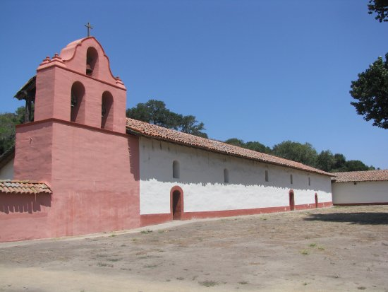 Lompoc, CA: Mission Church with Bell Tower