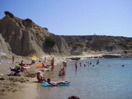 Kolimbia, Griechenland: Verejná pláž