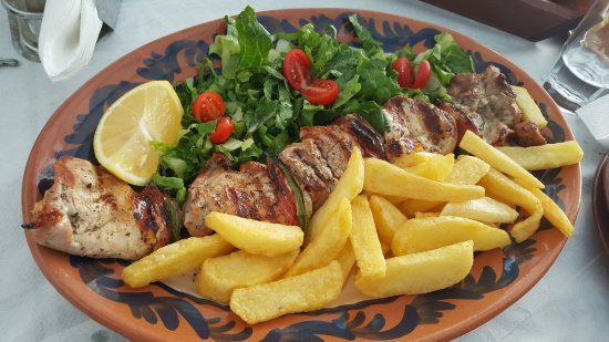 Agios Prokopios, Grecia: Naxos is also world renowned for its meats.