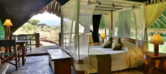 Kibo Safari Camp: inside tent