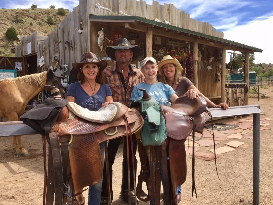 Cerrillos, NM: After our ride with Rod