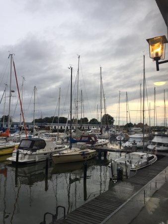 Karlshagen, Alemania: Blick vom Restauranttisch