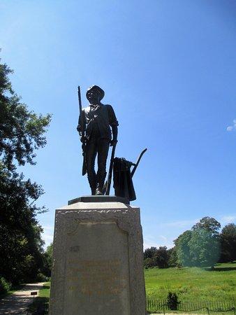 Concord, MA : Minute Man statue