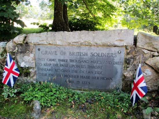 Concord, Массачусетс: British soldiers' grave