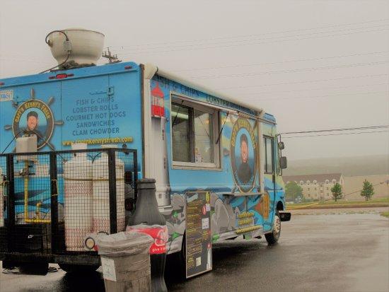 Arichat, Kanada: Capt'n Kenny's food truck