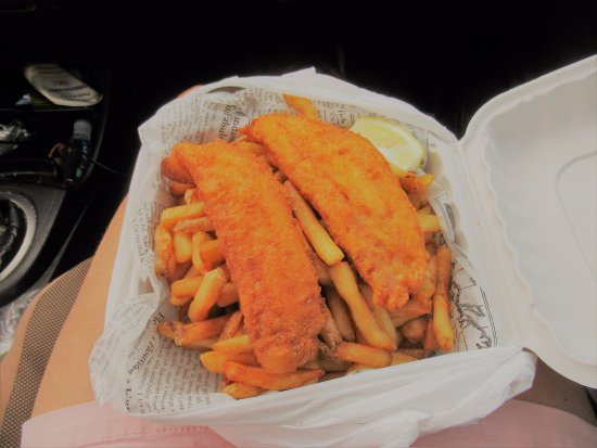 Arichat, Canadá: Fish n Chips- excellent