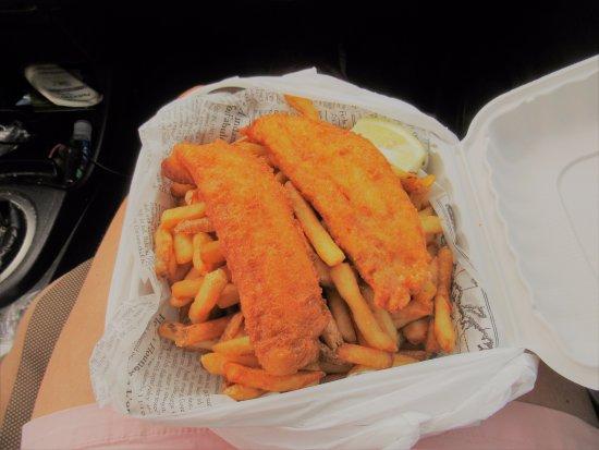Arichat, Kanada: Fish n Chips- excellent