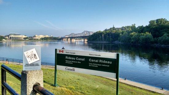 Ottawa, Canada: het Rideau kanaal