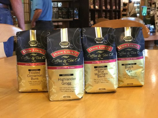 Door County Coffee and Tea Co.: Choose from 100 Different Coffee Varieties!