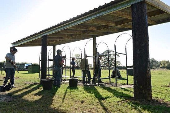 Clane, Ирландия: Clay Pigeon Shooting in the Sun