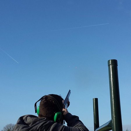 Clane, Ирландия: Clay Pigeon Shooting