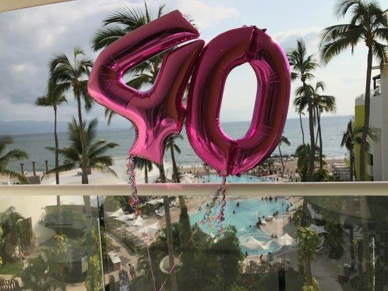 Hilton Puerto Vallarta Resort: Mi foto es el numero 40, por que es la edad que acabo de cumplir. Bienvenidos 40`s:)
