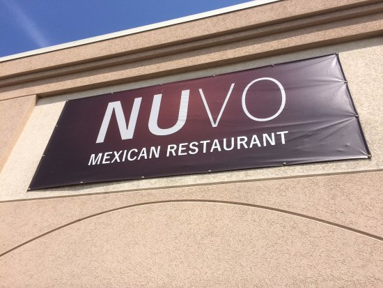 Nuvo Mexican Restaurant Sign