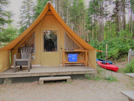 Temiscouata-sur-le-Lac, Canadá: Huttopia Camp Site