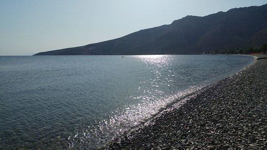 Livadia Beach: Baia e spiaggia di Livadia