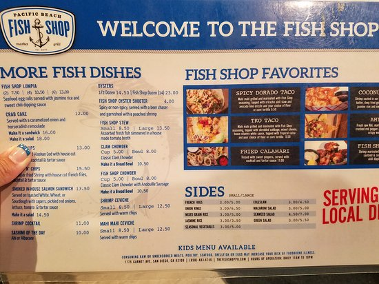 Fish shop pacific beach san diego omd men om for Fish store san diego